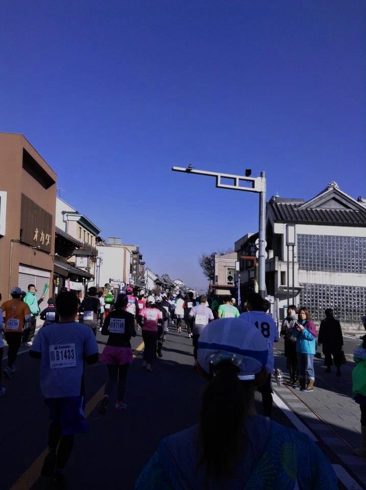 川越マラソン2013のエントリが締め切り。今年は二週間で締め切りの模様。