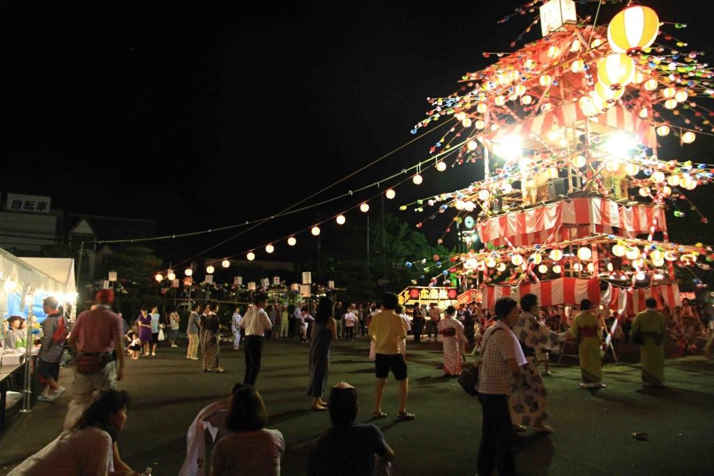 2013年滑川町羽尾の彼岸やぐら今年は9月14(土)、15日(日)開催