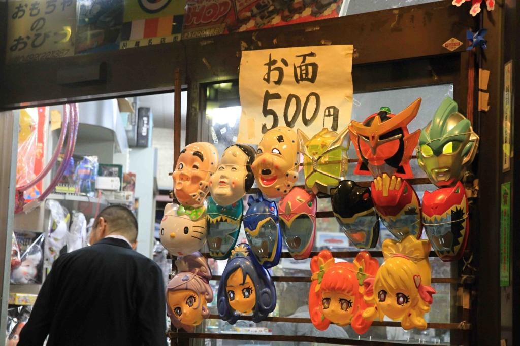 【2013年川越祭り】屋台メモ「お面はおびつさんで500円で買うのが吉」「酒は樽酒がよさそう」他