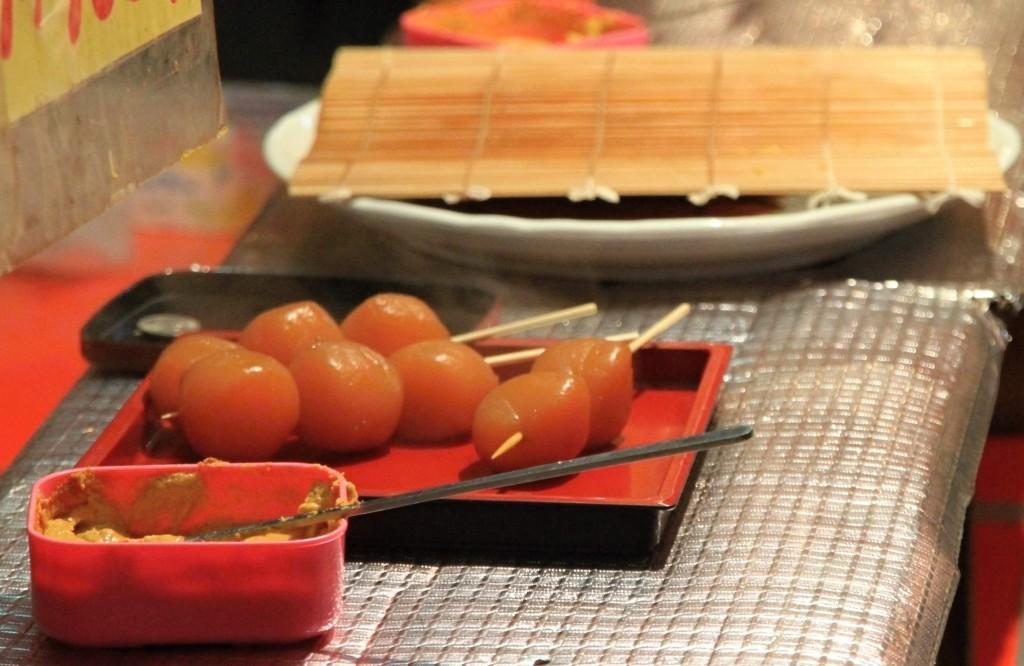 【2013年川越祭り】山車以外の風景映像。屋台(のしいか、カルメ焼き、やきそば他)とか。