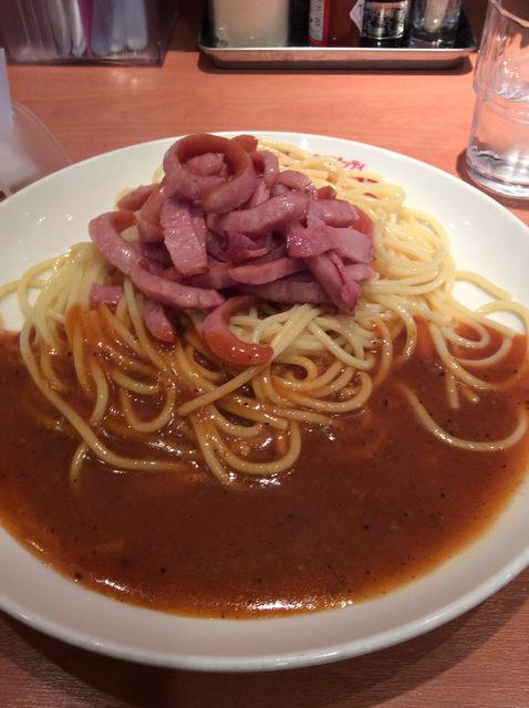 【美味しい名古屋】パスタでココ。ミラノスパゲティ。太麺で懐かしい味