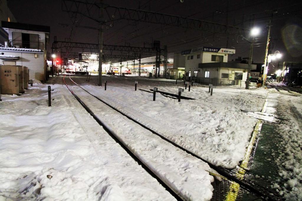 【写真-川越】2014年の雪風景。