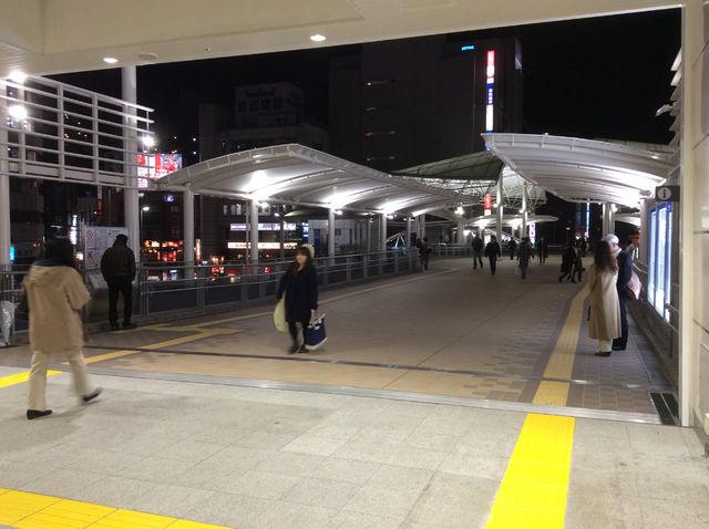 【駅前風景-川越駅(JR)】川越西口ペデストリアンデッキ開通。