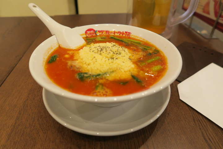 【美味しい志木】太陽のトマト麺。旨みたっぷりのチーズラーメンが魅力