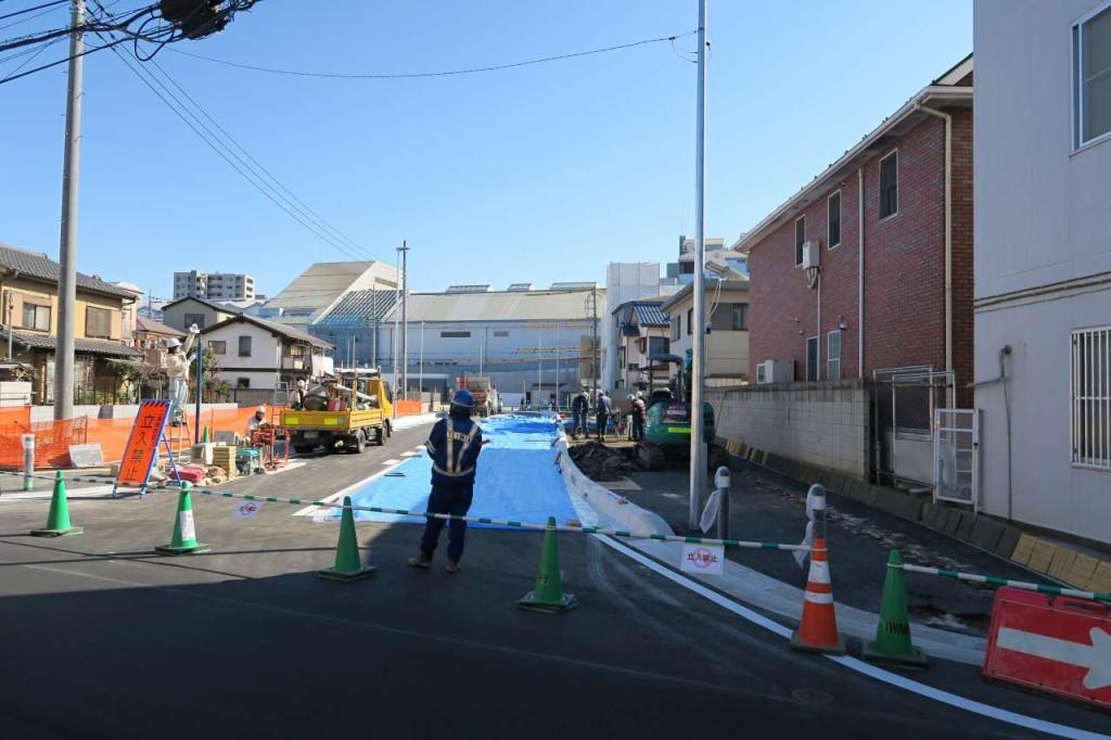 【話題】本川越駅西口供用開始。セレモニーも行われました。4月からはカフェコムサなどもオープンの模様
